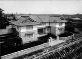 開館当時の民藝館