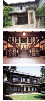日本民芸館の外観